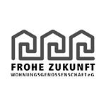 Logo frohezukunft Wohnungsgenossenschaft Halle